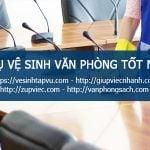 Top dịch vụ vệ sinh văn phòng TỐT Hà Nội