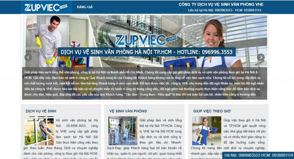 top 3 các công ty dịch vụ vệ sinh văn phòng tốt nhất Hà Nội
