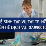Dịch vụ tạp vụ văn phòng theo giờ TPHCM