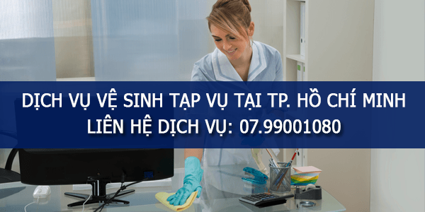 Dịch vụ vệ sinh văn phòng TPHCM | Uy tín top #1