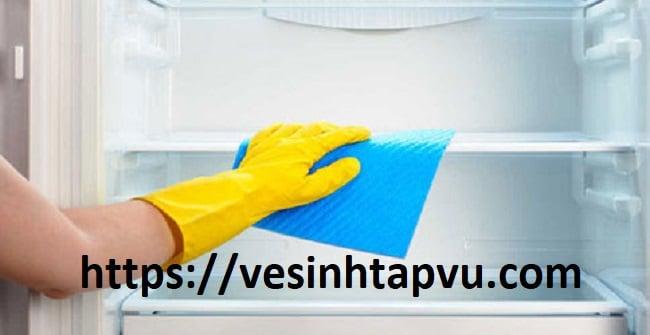 Vệ sinh tủ lạnh nhanh, sạch ngay tại nhà