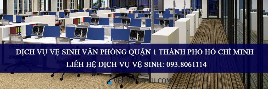 Công ty dịch vụ vệ sinh văn phòng theo giờ tại quận 1 TP HCM
