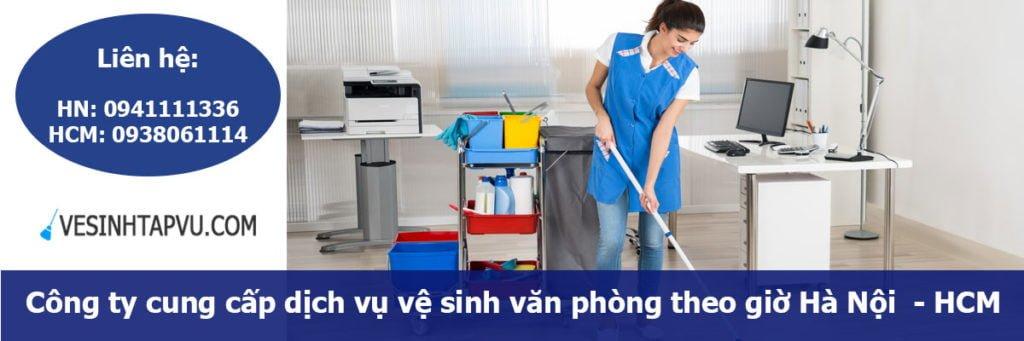 dịch vụ vệ sinh theo giờ quận tây hồ