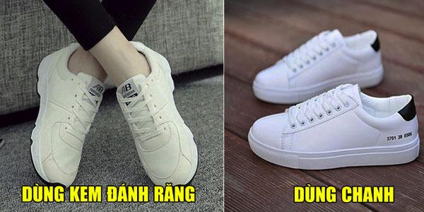 3 cách siêu nhanh làm sạch giày trắng
